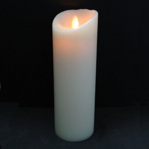 Luminara Living Flame 9'' Pillar Candle